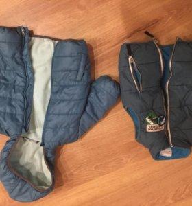 Куртка и жилетка