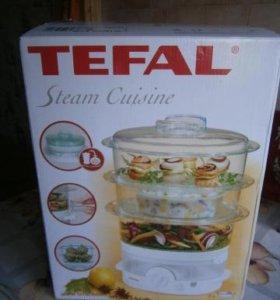 Новая пароварка tefal Steam Cuisine VC 1001