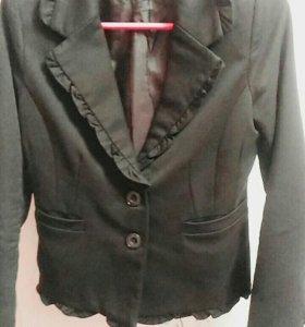 Пиджак школьный + рубашка