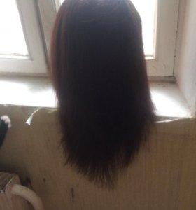 Манекен для стрижек и причёсок.