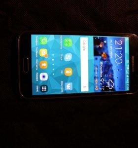 Samsung s5 duos Black