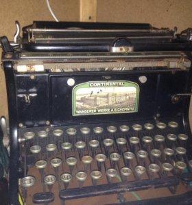Печатная машинка CONTINENTAL