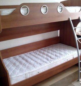 """кровать двухъярусная """"Шатура"""""""