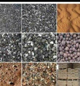 Песок, земля, щебень, доставка
