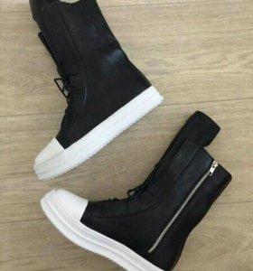Ботинки женские новые кеды