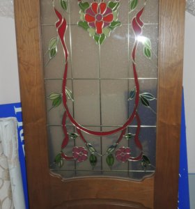 Дверь межкомнатная витражная