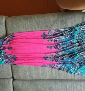 длинная платье