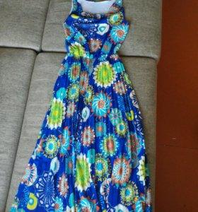 платье длинная