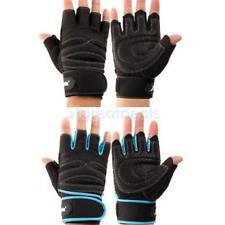 Крутые перчатки для спорта с напульсником и гелем