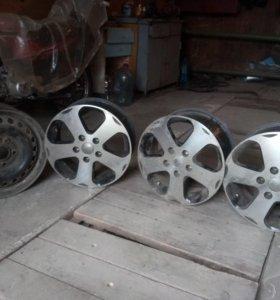 Литые диски 3 шт