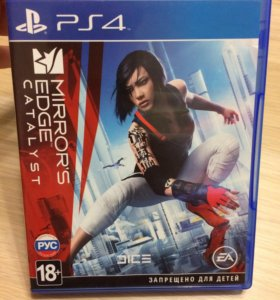 Продам Mirrors Edge Catalyst для PS4