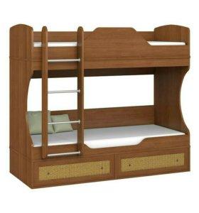 Двухъярусная кровать в детскую