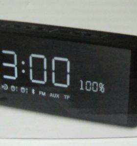 Часы будильник радио мп3 плеер