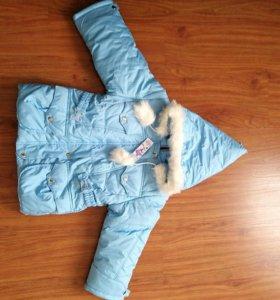 Курточка демисезонная для девочки