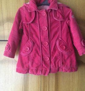 Пальто для малышки
