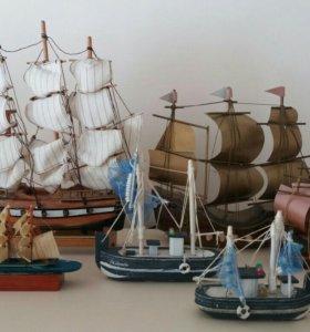 Коллекция кораблей