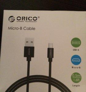 USB micro кабель Android
