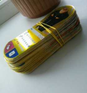 Вся коллекция карточек Гадкий Я 3