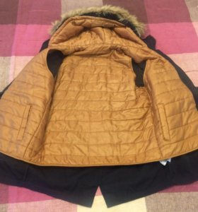 Куртка-парка ZARA демисезонная на подростка