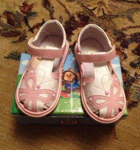 Туфли детские. 24 размер