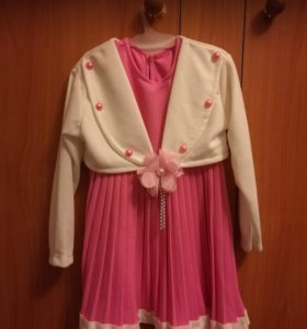 Нарядное платье с накидкой для принцессы