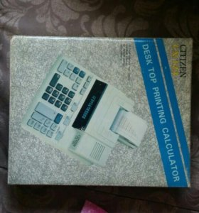 Электронный калькулятор Citizen CX-123
