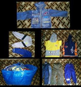 Пакет одежды. Размер 92-98