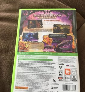 Saints Row Gat Out Of Hell - Xbox 360