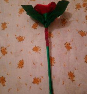 Роза для влюблённых подарок маме для свадьбы украш