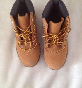 Детская обувь ботинки (30) Timberland Новые