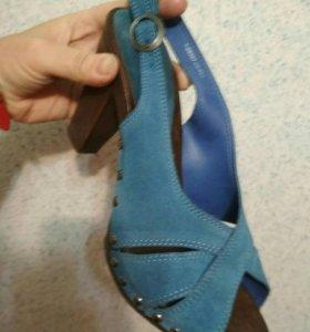 Туфли натуральная замша. 39-40