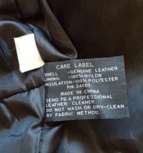 Отличная коженная куртка