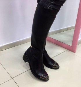 Модные женские сапоги арт 289