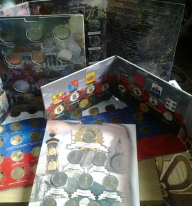 Наборы монет и альбомы