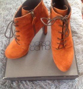 "Замшевые ботинки ""CORSO COMO"""