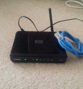 Wi-Fi Роутер D-Link новый