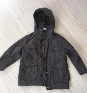 Демисезонная утеплённая куртка 116
