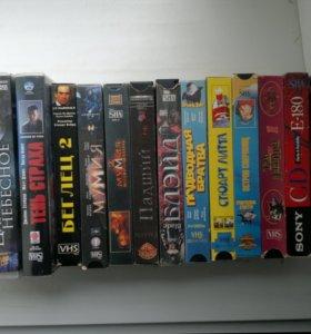 VHS-кассеты и CD-MP3