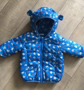 Куртка на осень-весну для мальчика фирмы benetton