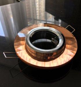 Встраиваемый светильник Elvan 8160 Brown/silver