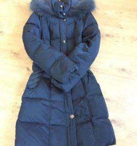 Пальто зимнее 10-11лет
