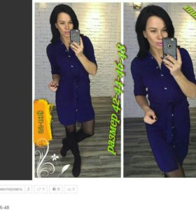 Платье-новое,в чёрном цвете!