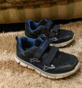 Кроссовки синие, для мальчика, размер 28,