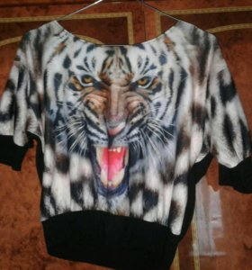 Топ с тигром