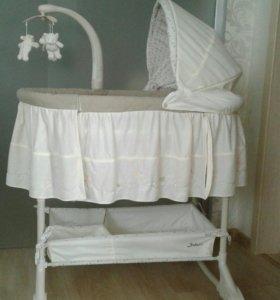 Кроватка-люлька детская Jetem