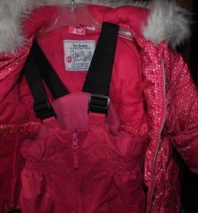 Курточка и штанишки на зиму