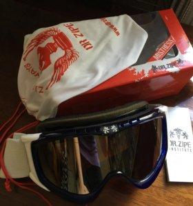 Сноубордическая маска очки