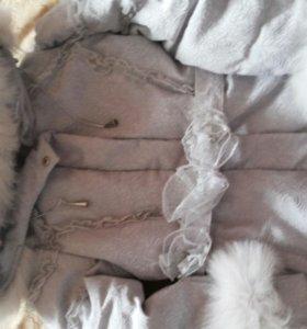 Пальто Stillini для девочки б/у