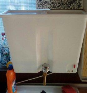 Умывальник с электроподогревом для дачи.
