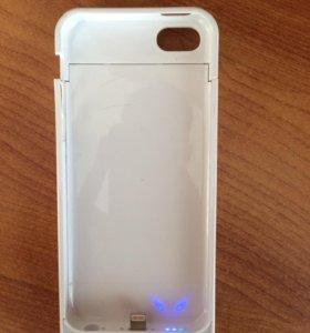 Чехол - зарядка для iphone 5 s